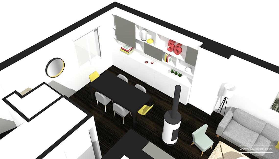 meuble t l et d coration sur mesure animelie. Black Bedroom Furniture Sets. Home Design Ideas