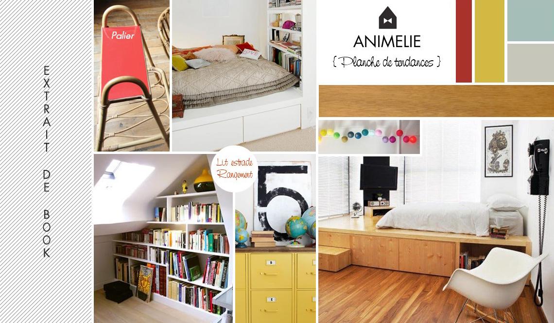 un coin lecture sur le palier animelie. Black Bedroom Furniture Sets. Home Design Ideas
