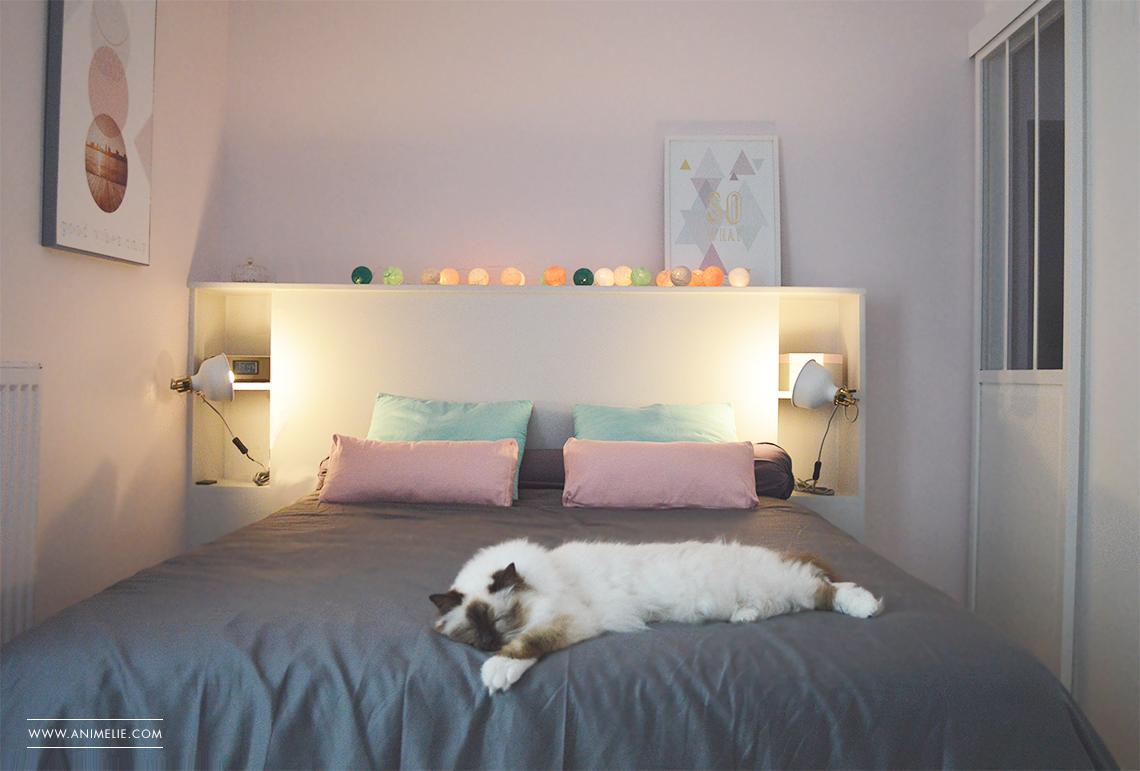 La chambre rose - Animelie